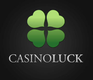 Casino Luck Black Grey Logo